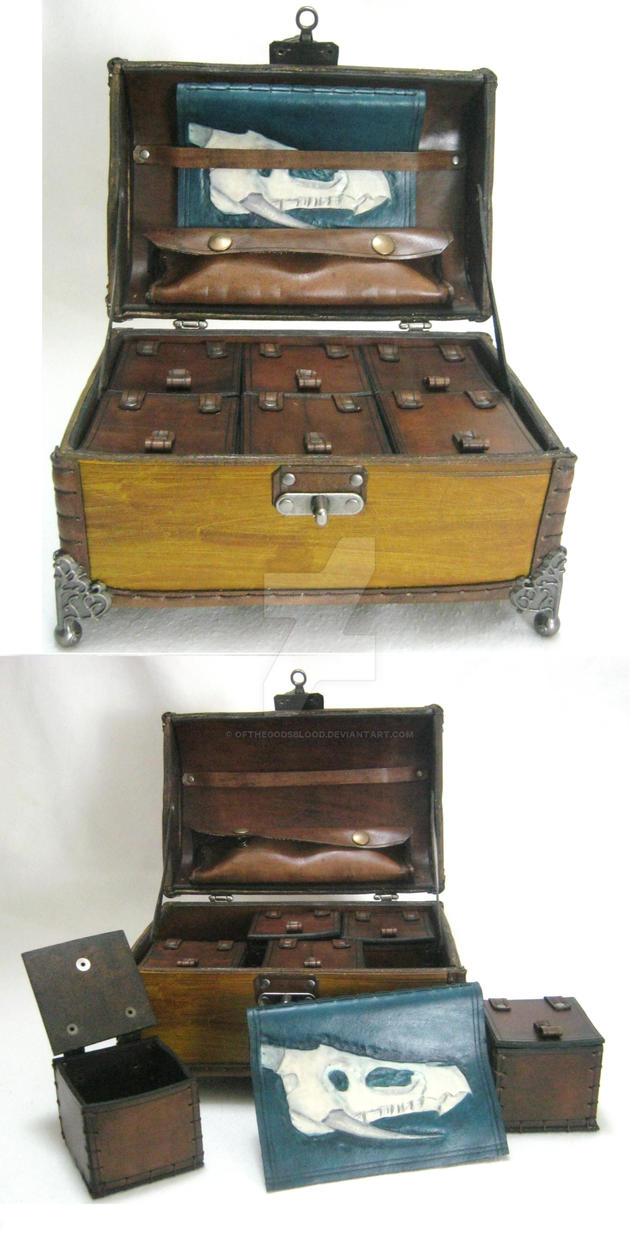 Custom Gobeil Dice Box by OfTheGodsBlood