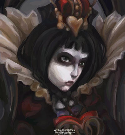 Queen of HeartsArtbyAliceYuric by AliceYuric
