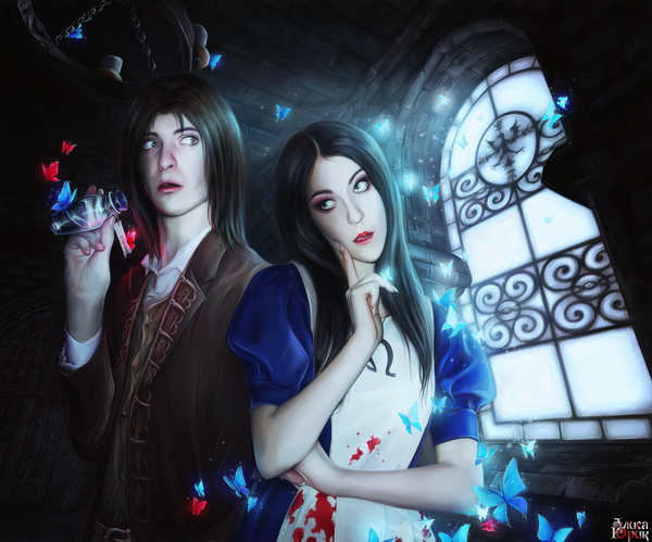 Daniel and Alice by AliceYuric