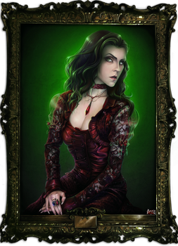 Lady in Red from Game Ib