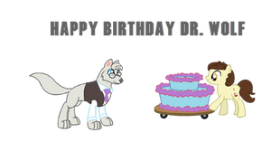 Happy Birthday Dr. Wolf