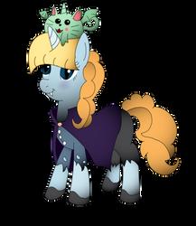 Kawaii Kunicorn Halloween Version by cam-and-sister-paint
