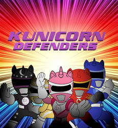 Kunicorn Defenders by cam-and-sister-paint