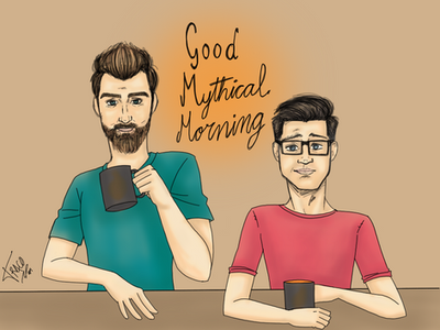 Good mythical morning by Traco