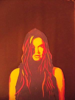 Papercut Portrait by Omanoct