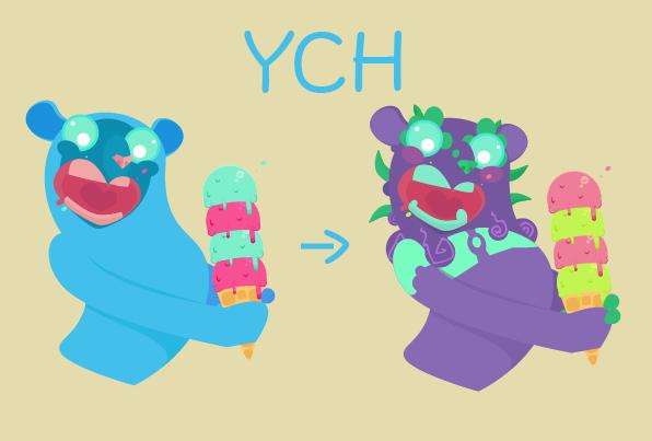YCH Ice Cream [Open] by twilight-dweller
