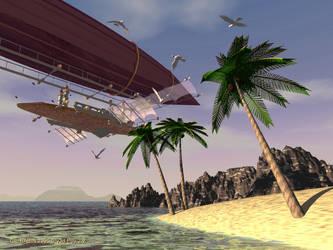 CSG airship 02 by GilB57