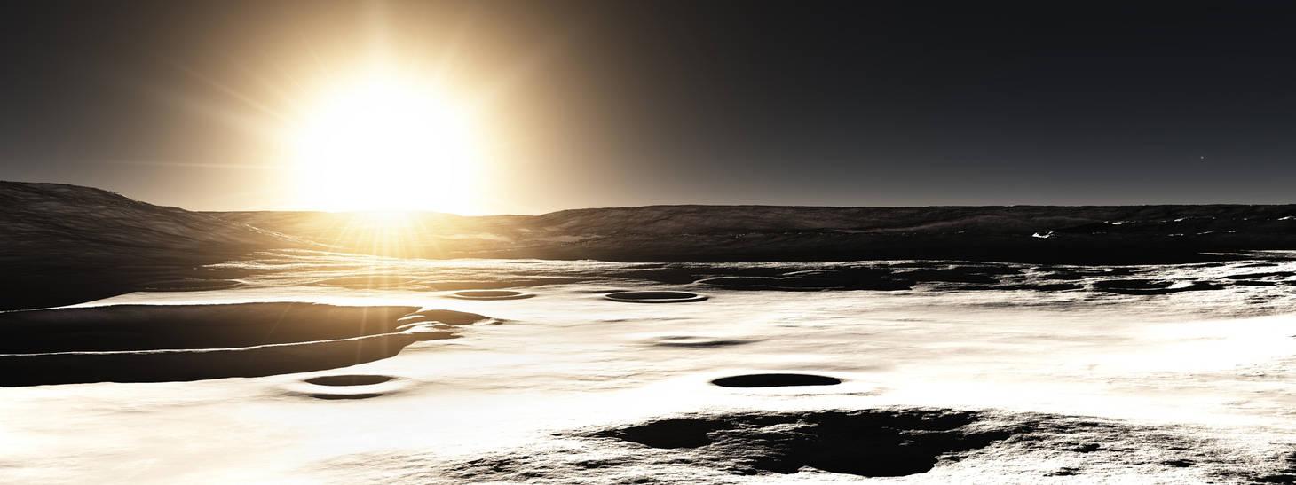 Planet sunlight: Mercury by GilB57