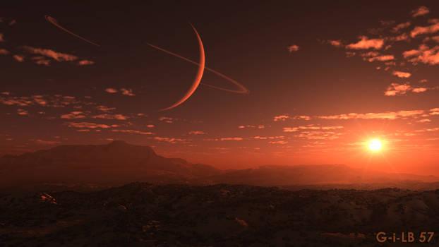 Extrasolar landscape by GilB57