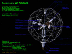 Interstellar ship ISS10 Magellan