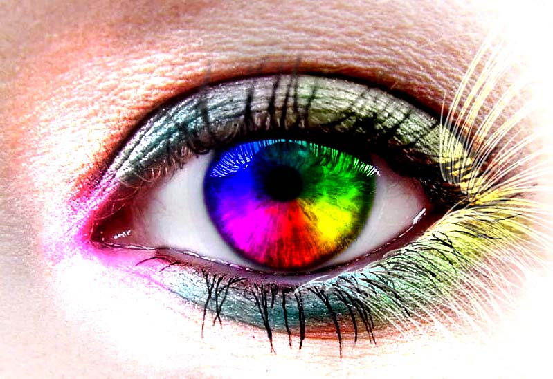 Rainbows by GoodGoneGirl Beauty is Truly in the Eyes of the Beholder