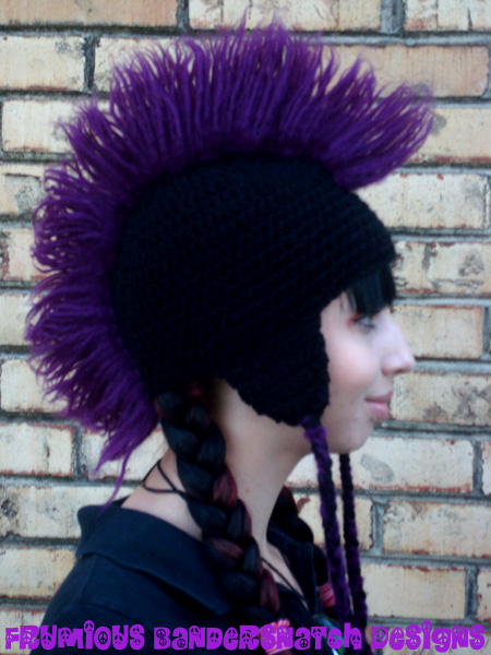 Crochet Mohawk Hat By Nightsmemories On Deviantart