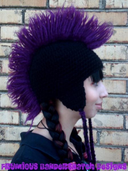 Knit Mohawk Hat Pattern : Crochet Mohawk Hat by NightsMemories on DeviantArt