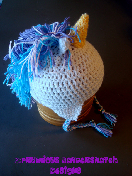 Crochet Unicorn Hat View1 by NightsMemories