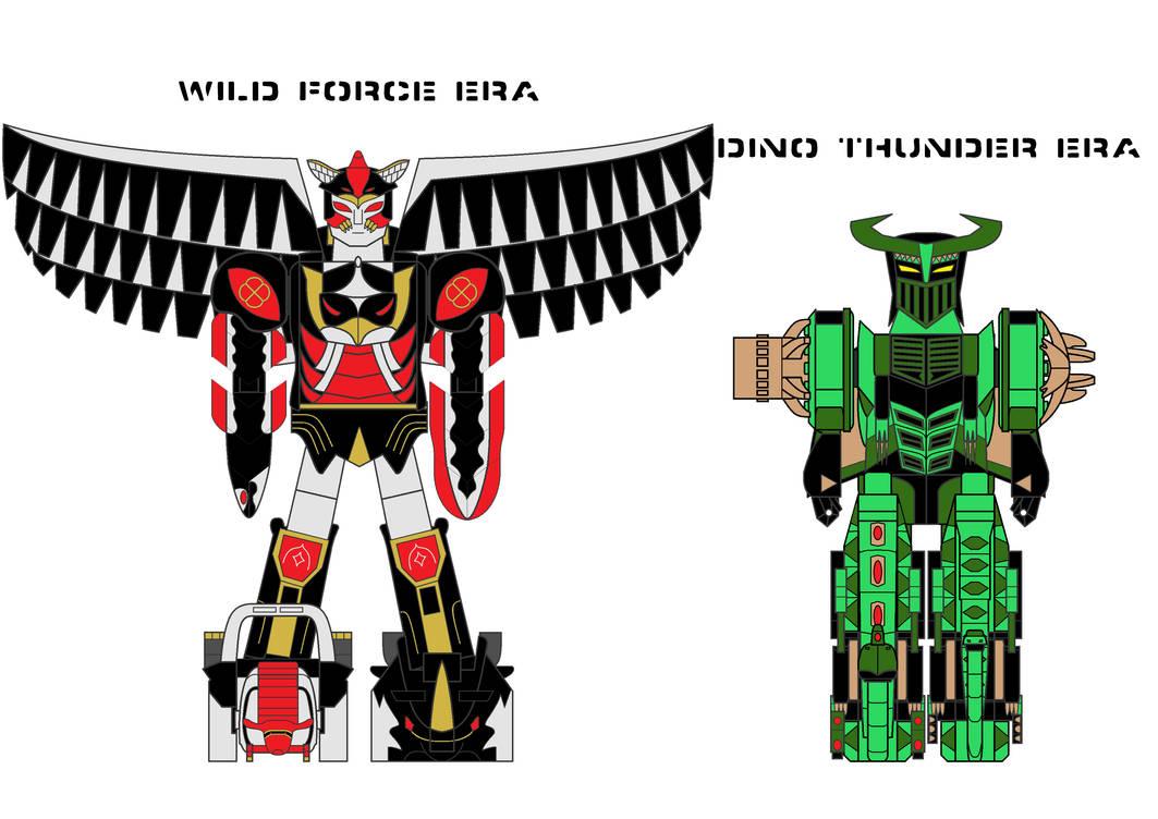 Evil Magazord Power Rangers in Trek