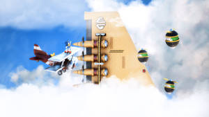 Sky Chase Zone - 2 by exojamesm