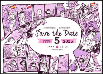 Save the date by Zoiloland