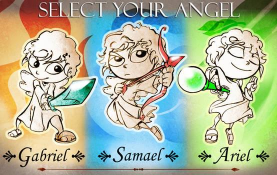 Gods Garden Defense Characters