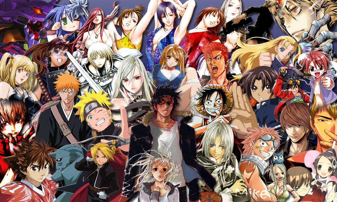 Wallpaper Manga World By Mikeymi