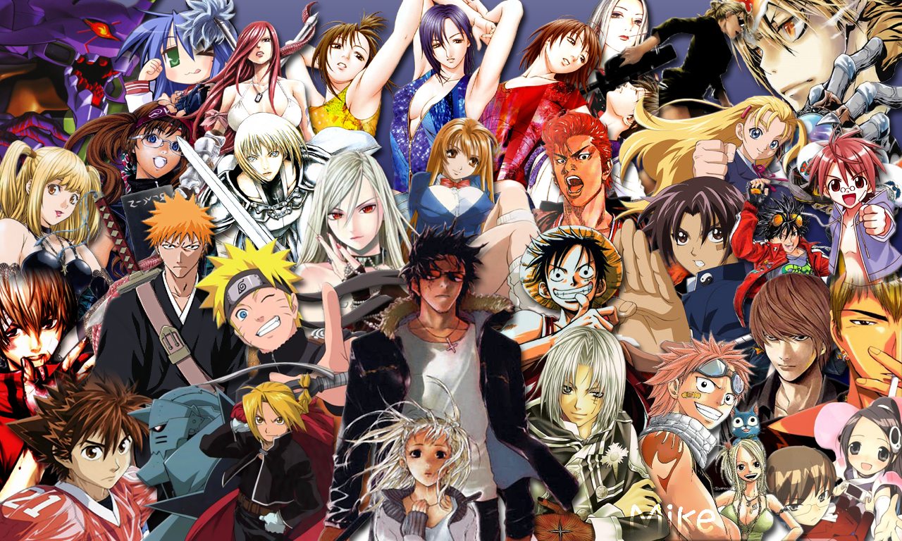 Wallpaper Manga World By Mikeymi22 On Deviantart