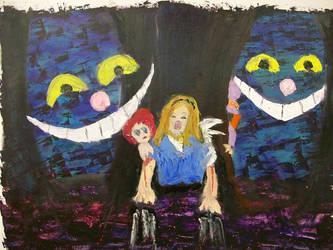 Alice in Nightmareland by sugarcrazedduckie