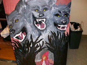 The Big Bad Wolf by sugarcrazedduckie