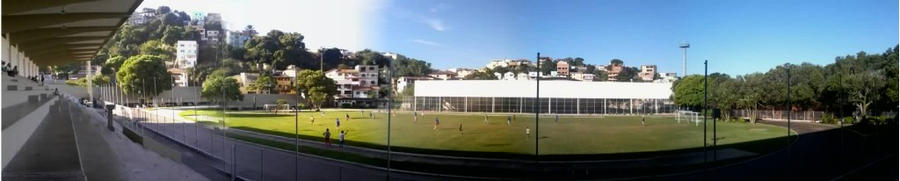 Part of my school, panoramic. by Mafagafinha
