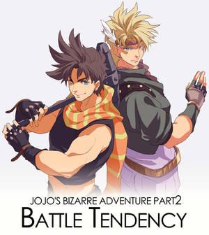 JOJO'S BIZARRE ADVENTURE Part2 Battle Tend