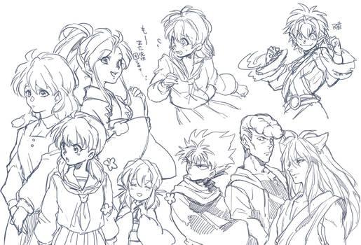 YuYuHakusho sketch