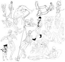Lupin sketch