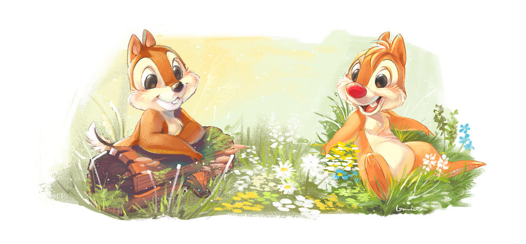Chip n dale by umintsu on deviantart - Chip n dale wallpapers free download ...