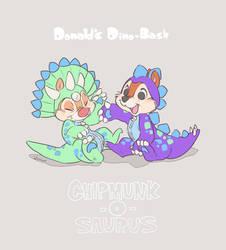 Chipmunk-O-Saurus! by Umintsu