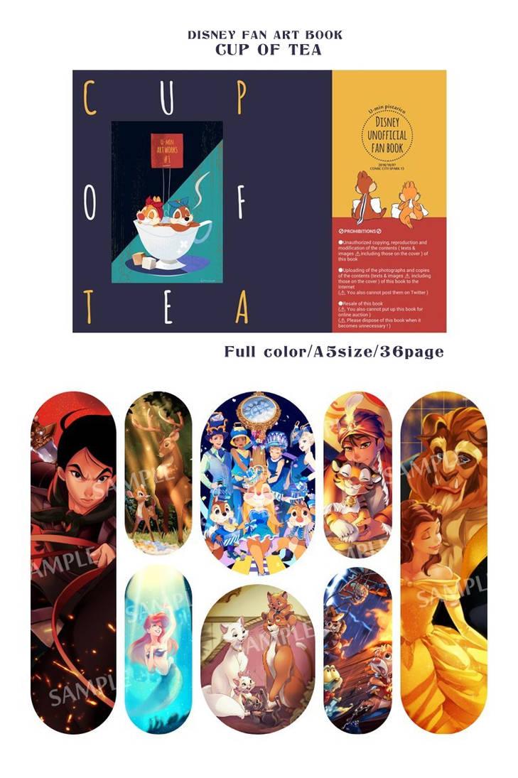 DISNEY FAN ART BOOK coming soon by Umintsu