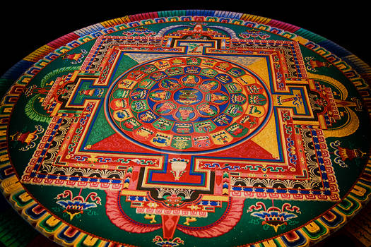 The Sand Mandala