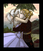 Hawke and Anders Fluffy Fluff by KMelton