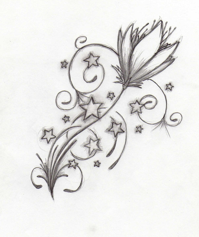 Tattoo Design Flower by ~Dralogel on deviantART