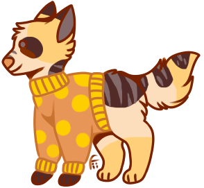 Sweater Canine Adoptable [OPEN] by PAKALUADOPTABLES