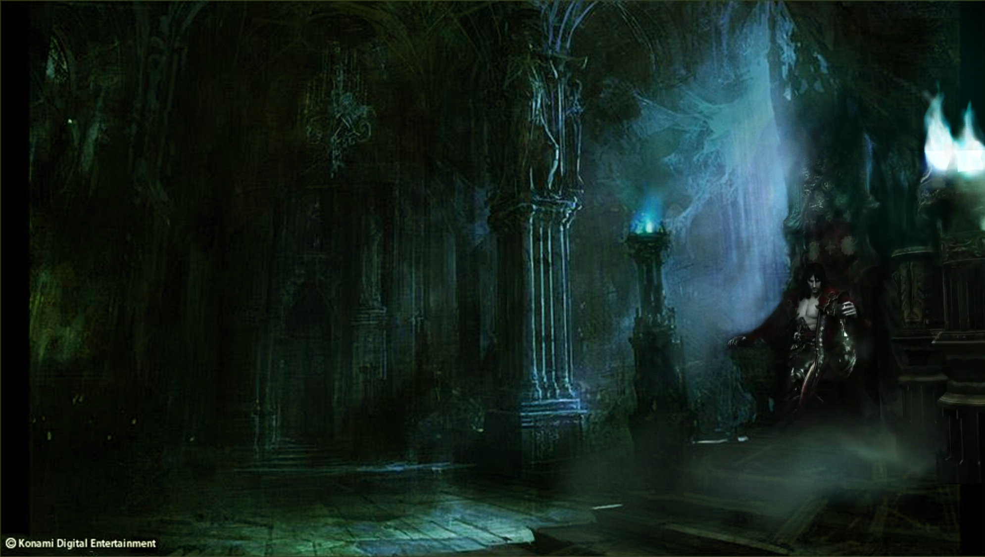 Castlevania Lords Of Shadow 2 Throne Room By