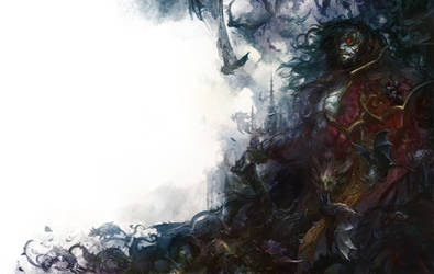 Castlevania: Lords of Shadow 2 ( DRACULA ) Colored