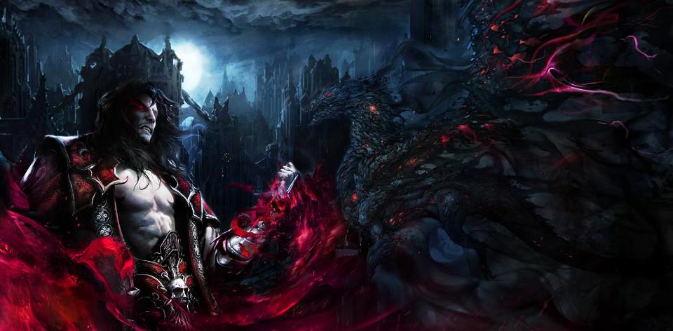 Castlevania Lords Of Shadow 2 Dracula Dragon By Renrenlotus On Deviantart