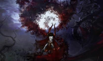 Lords of Shadow 2 -  Dracula Summons Bats
