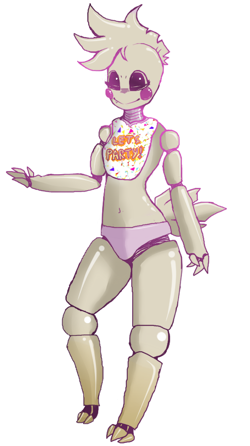Welcome to Freddy's - Chica by Shark-Sheep