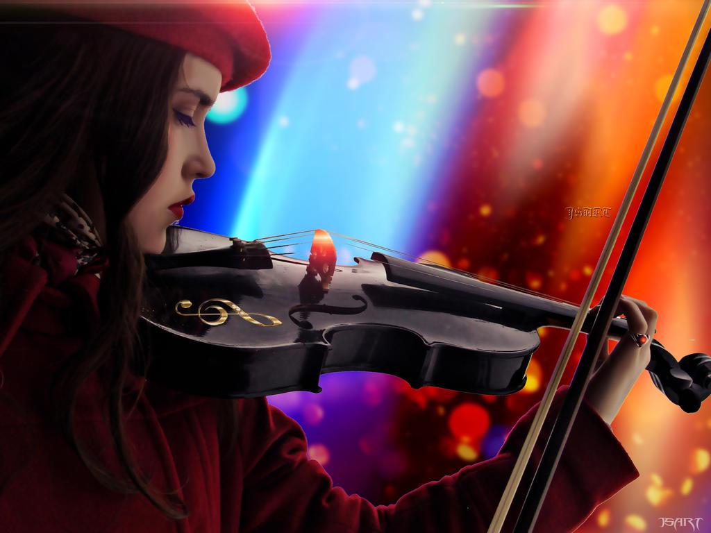 Autumn violin by jspanda