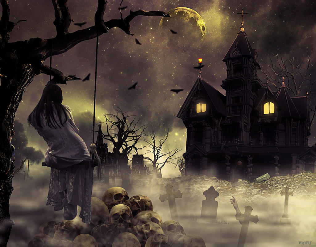 The Haunted House by jspanda