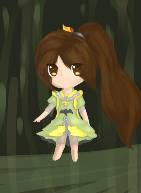 Magical Girl Hazel Leaf by Moonleaf1