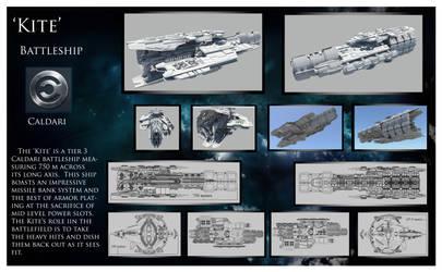Kite caldari battleship