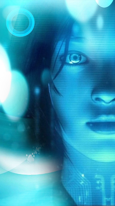 Cortana Phone Wallpaper By Dionysusmaenad