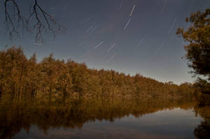 Lake Mournpall by Moonlight by MartinBennet