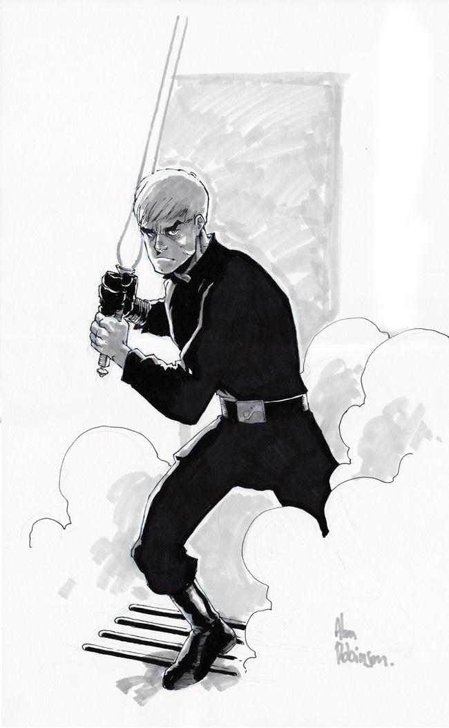 Luke sketch by alanrobinson