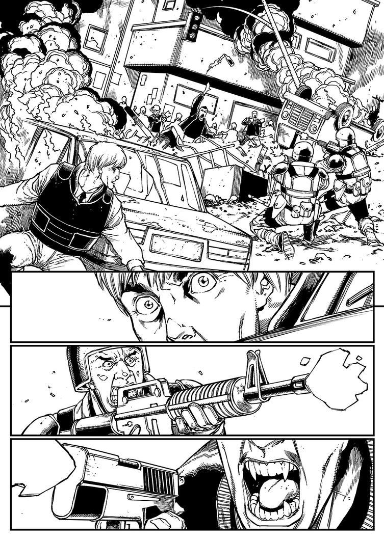 V-Wars #0 - Page 1 by alanrobinson